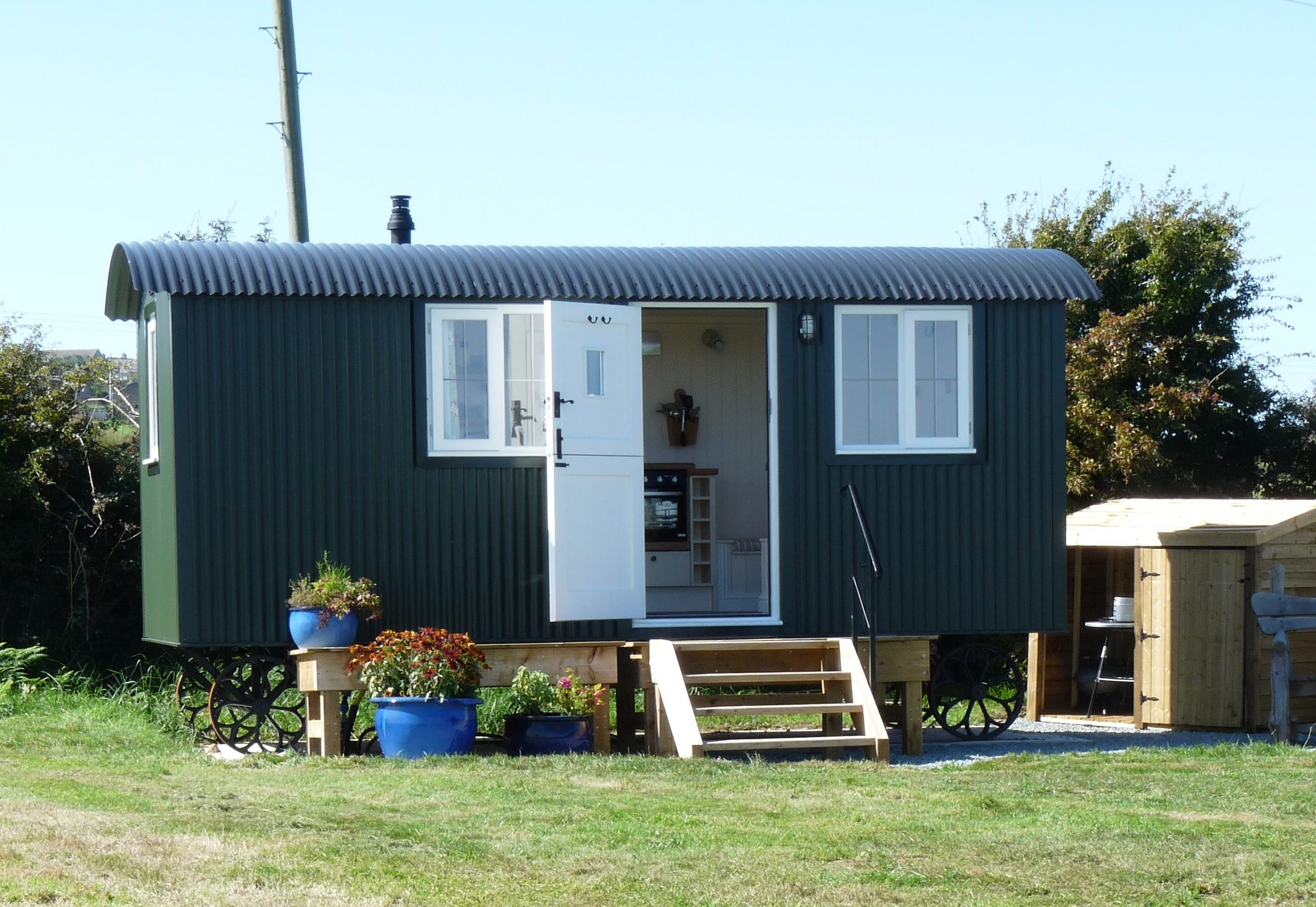Anglesey Shepherds Huts